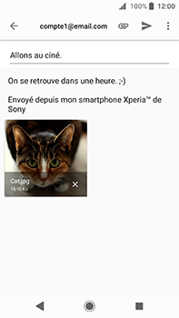 Sony Xperia XA2 Ultra - E-mail - envoyer un e-mail - Étape 13