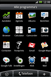 HTC A6262 Hero - MMS - Afbeeldingen verzenden - Stap 2