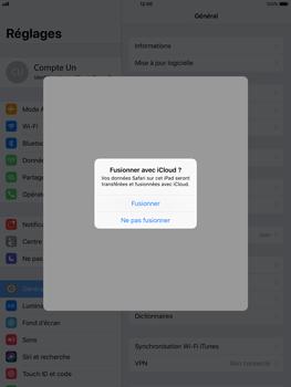 Apple iPad Air - iOS 11 - Device maintenance - Back up - Étape 8