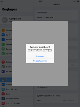 Apple Apple iPad Pro 12.9 - iOS 11 - Device maintenance - Back up - Étape 8