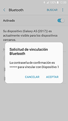 Samsung Galaxy A5 (2017) (A520) - Bluetooth - Conectar dispositivos a través de Bluetooth - Paso 8