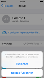 Apple iPhone 5 iOS 10 - Device maintenance - Back up - Étape 8