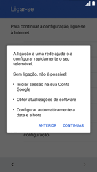 Motorola Moto C Plus - Primeiros passos - Como ligar o telemóvel pela primeira vez -  8