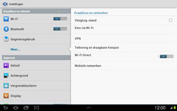 Samsung P5100 Galaxy Tab 2 10-1 - Buitenland - Bellen, sms en internet - Stap 6