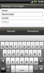 HTC S510b Rhyme - Internet - Hoe te internetten - Stap 9