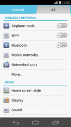 Huawei Ascend P7 - WiFi and Bluetooth - Manual configuration - Step 4