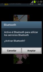 Samsung S7560 Galaxy Trend - Bluetooth - Transferir archivos a través de Bluetooth - Paso 11