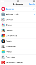Apple iPhone iOS 9 - Aplicativos - Como baixar aplicativos - Etapa 5