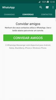 Samsung Galaxy S6 Edge + - Aplicações - Como configurar o WhatsApp -  15