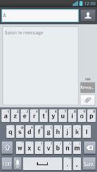 LG Optimus F6 - Contact, Appels, SMS/MMS - Envoyer un MMS - Étape 5