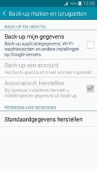 Samsung I9195i Galaxy S4 mini VE - Instellingen aanpassen - Fabrieksinstellingen terugzetten - Stap 5
