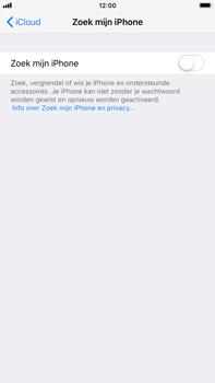 Apple iPhone 8 Plus - iOS 12 - Beveiliging en privacy - zoek mijn iPhone activeren - Stap 11