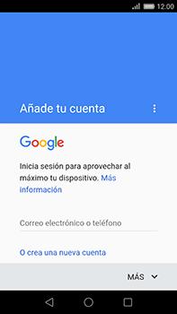 Huawei GX8 - E-mail - Configurar Gmail - Paso 9