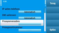Nokia N97 - MMS - handmatig instellen - Stap 18
