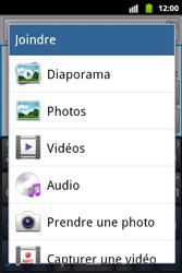 Samsung S5690 Galaxy Xcover - Mms - Envoi d