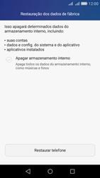 Huawei Y6 - Funções básicas - Como restaurar as configurações originais do seu aparelho - Etapa 5