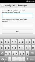 Huawei Ascend Y550 - E-mail - Configurer l