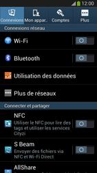 Samsung C105 Galaxy S IV Zoom LTE - Wifi - configuration manuelle - Étape 3