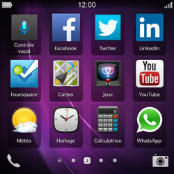 BlackBerry Q10 - Applications - Supprimer une application - Étape 3