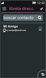Nokia Asha 311 - E-mail - Escribir y enviar un correo electrónico - Paso 6