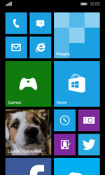 Microsoft Lumia 532 - Internet - Example mobile sites - Step 1