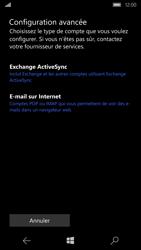 Microsoft Lumia 650 - E-mail - Configuration manuelle - Étape 8