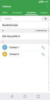 LG G6 (LG-H870) - Contacten en data - Contacten kopiëren van toestel naar SIM - Stap 5