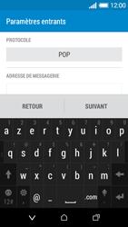 HTC Desire 510 - E-mails - Ajouter ou modifier un compte e-mail - Étape 8