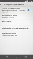 Sony Xperia Z1 - Red - Seleccionar una red - Paso 6