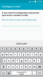 Samsung Galaxy A5 - Email - Adicionar conta de email -  10