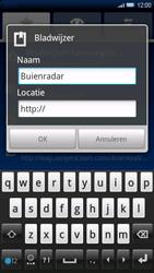 Sony Ericsson Xperia X10 - Internet - Hoe te internetten - Stap 9