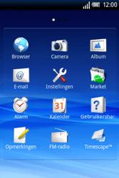 Sony Ericsson Xperia X8 - E-mail - handmatig instellen - Stap 7