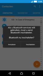 Sony E2303 Xperia M4 Aqua - Contactgegevens overzetten - delen via Bluetooth - Stap 9