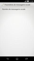 Sony Xperia Z2 (D6503) - Messagerie vocale - Configuration manuelle - Étape 7