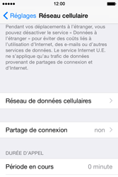 Apple iPhone 4s iOS 8 - Internet - Configuration manuelle - Étape 5