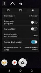 Sony Xperia M2 - Funciones básicas - Uso de la camára - Paso 10
