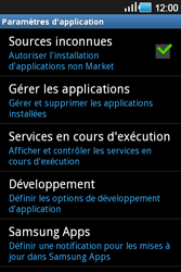 Samsung Galaxy Ace - Applications - Supprimer une application - Étape 5