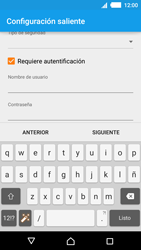 Sony Xperia M4 Aqua - E-mail - Configurar correo electrónico - Paso 16
