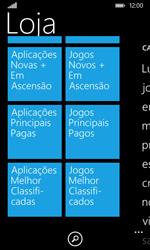 Nokia Lumia 530 - Aplicações - Como pesquisar e instalar aplicações -  9