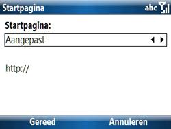 Samsung C6620 - Internet - handmatig instellen - Stap 17