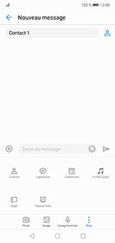 Huawei P20 lite - Contact, Appels, SMS/MMS - Envoyer un MMS - Étape 10
