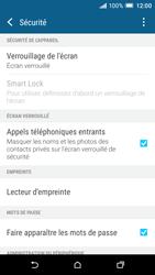 HTC One A9 - Sécuriser votre mobile - Activer le code de verrouillage - Étape 5