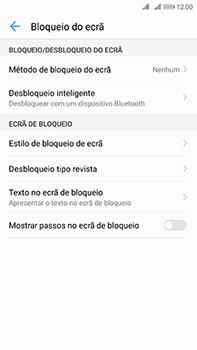 Huawei Mate 10 - Segurança - Como ativar o código de bloqueio do ecrã -  5