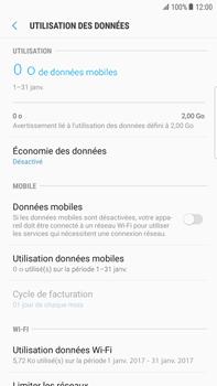 Samsung Galaxy S6 Edge+ - Android Nougat - Internet - activer ou désactiver - Étape 7