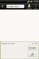 HTC A320e Desire C - MMS - envoi d'images - Étape 6