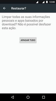 Motorola Moto Z2 Play - Funções básicas - Como restaurar as configurações originais do seu aparelho - Etapa 7