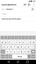 LG G5 SE (LG-H840) - E-mail - Hoe te versturen - Stap 10