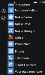 Nokia Lumia 800 - Internet et connexion - Accéder au réseau Wi-Fi - Étape 3