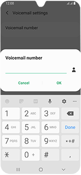 Samsung Galaxy A40 - Voicemail - Manual configuration - Step 11