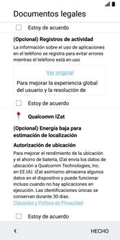 LG G6 - Primeros pasos - Activar el equipo - Paso 16